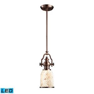 "Chadwick - 17"" 9.5W 1 LED Mini Pendant"
