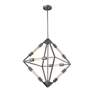 Laboratory - 6 Light Chandelier in Modern/Contemporary Style with Urban and Modern Farmhouse inspirations - 28 Inches tall and 20 inches wide