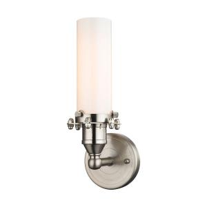 Fulton - 1 Light Wall Sconce in Transitional Style with Modern Farmhouse and Urban/Industrial inspirations - 12 Inches tall and 4 inches wide