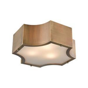 Gordon - Three Light Flush Mount