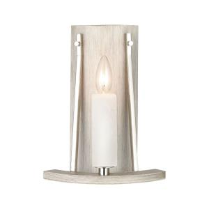 White Stone - 1 Light Wall Sconce
