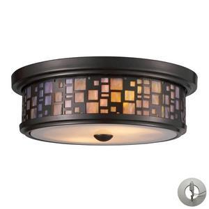 Tiffany - Two Light Flush Mount