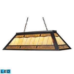 Filigree - 14 Inch 38W 4 LED Billiard