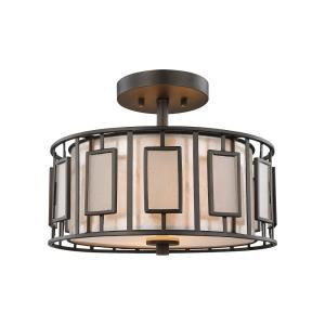 Minden - Two Light Semi-Flush Mount