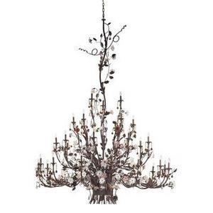 Cristallo Fiore - Thirty Three Light Chandelier