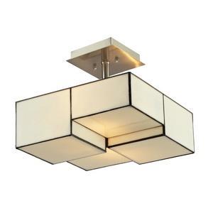 Cubist - Two Light Semi-Flush Mount