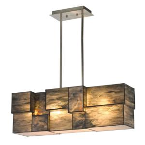 Cubist - 8 Inch 38W 4 LED Chandelier
