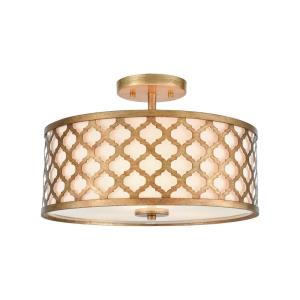 Arabesque - Three Light Semi-Flush Mount