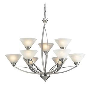 Elysburg - Nine Light Chandelier