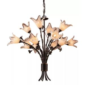 Fioritura - Twelve Light Chandelier