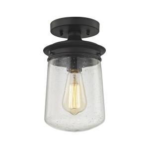 Hamel - One Light Semi-Flush Mount