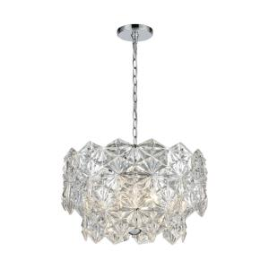 Lavique - Four Light Chandelier