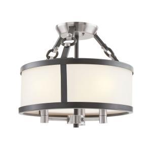 Armstrong Grove - 3 Light Semi-Flush Mount