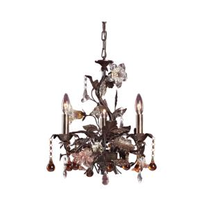 Cristallo Fiore - Three Light Chandelier