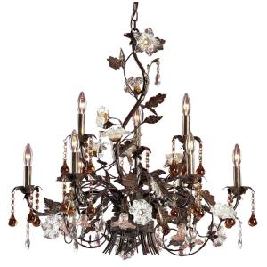 Cristallo Fiore - Nine Light Chandelier