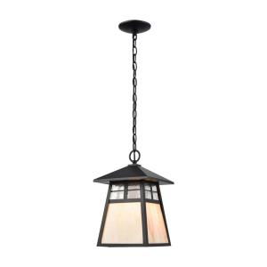 Cottage - One Light Outdoor Hanging Lantern
