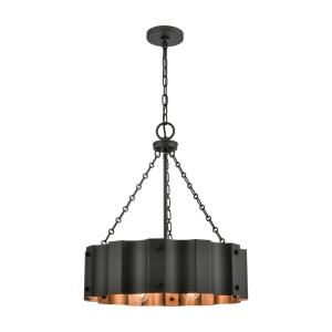 Clausten - Four Light Chandelier
