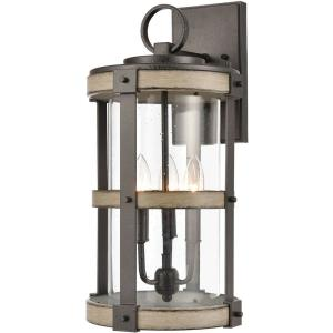 Crenshaw - Three Light Outdoor Wall Sconce