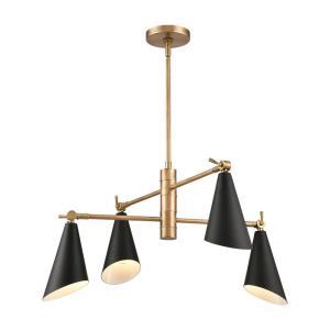 Calder - 4 Light Chandelier