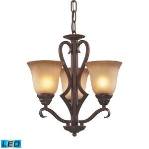 "Lawrenceville - 17"" 28.5W 3 LED Chandelier"