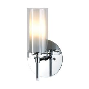 Tubolaire - 1 Light Wall Sconce in Modern/Contemporary Style with Art Deco and Luxe/Glam inspirations - 9.5 Inches tall and 5 inches wide