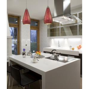 Curvalo - Six Light Rectangular Pendant