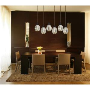 Danica - Six Light Rectangular Pendant
