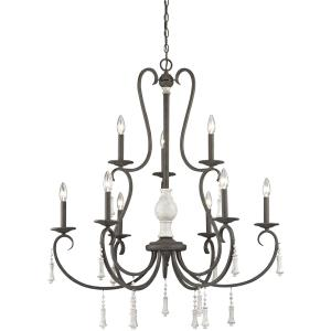 Porto Cristo - Twelve Light 3-Tier Chandelier