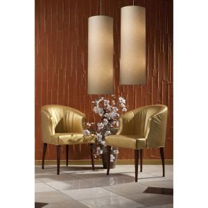 Fabric Cylinders - 33 Inch 190W 20 LED Chandelier