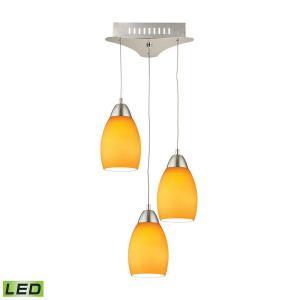 Buro - 9 Inch 15W 3 LED Mini Pendant