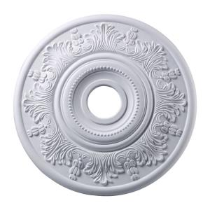 Laureldale - Medallion in Traditional Style with Victorian and Vintage Charm inspirations - 1.5 Inches tall and 20.5 inches wide