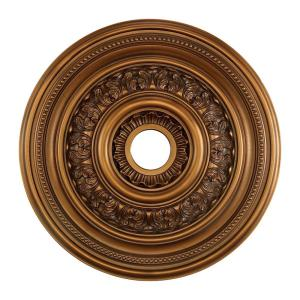 English Study - Medallion in Traditional Style with Victorian and Vintage Charm inspirations - 1 Inches tall and 24 inches wide