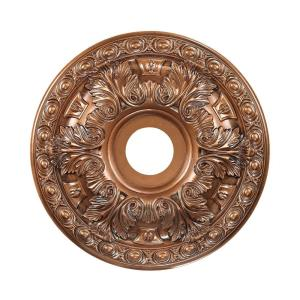 Pennington - Medallion in Traditional Style with Victorian and Vintage Charm inspirations - 2 Inches tall and 18 inches wide