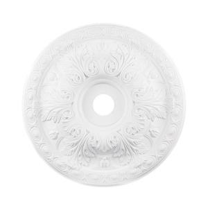Pennington - Medallion in Traditional Style with Victorian and Vintage Charm inspirations - 3 Inches tall and 28 inches wide