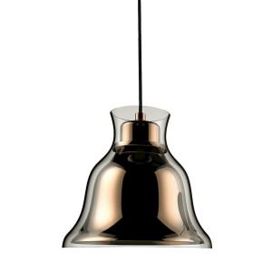 Bolero - 1 Light Pendant in Modern/Contemporary Style with Luxe/Glam and Urban/Industrial inspirations - 7.8 Inches tall and 8.3 inches wide