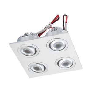 4.75 Inch Directional Recessed Plate-mounted LED Button Downlight