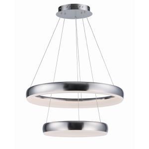 Innertube - 23.5 Inch 96W 2 LED 2-Tier Pendant