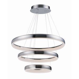 """Innertube - 31.5"""" 90W 3 LED 3-Tier Pendant"""