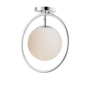 Revolution-1 Light Flush Mount-13 Inches wide by 14 inches high