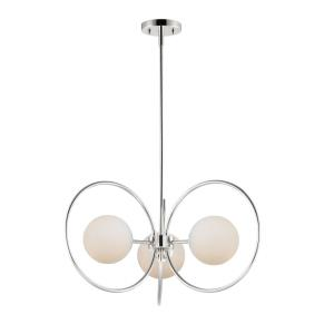 Revolution-3 Light Chandelier-28 Inches wide by 13.5 inches high