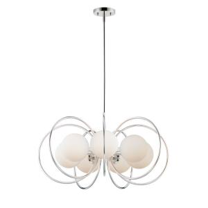 Revolution-7 Light Chandelier-29 Inches wide by 13.5 inches high