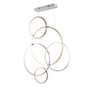 Union-5 LED Pendant-4.75 Inches wide by 46.75 inches high