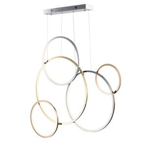 Union-5 LED Pendant-4.75 Inches wide by 39.5 inches high