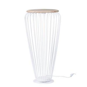 """Cage - 40"""" 7.2W 1 LED Floor Lamp"""