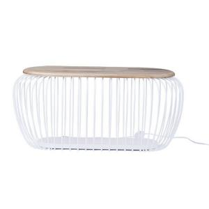 """Cage - 39.25"""" 9W 1 LED Floor Lamp"""