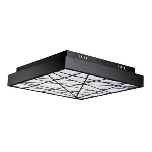 Intersect-108W 1 LED Flush Mount-23.5 Inches wide by 4.5 inches high