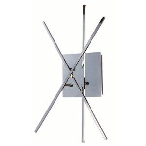 """Kriss Kross - 24"""" 9W 3 LED Wall Sconce"""