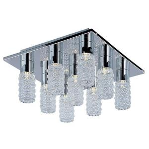 Polka-27W 9 LED Flush Mount-15.75 Inches wide by 8 inches high