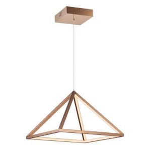 Pyramid - 15.75 Inch 28W 1 LED Pendant
