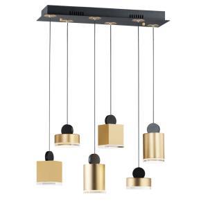 Nob - 24.5 Inch 39W 1 LED Pendant